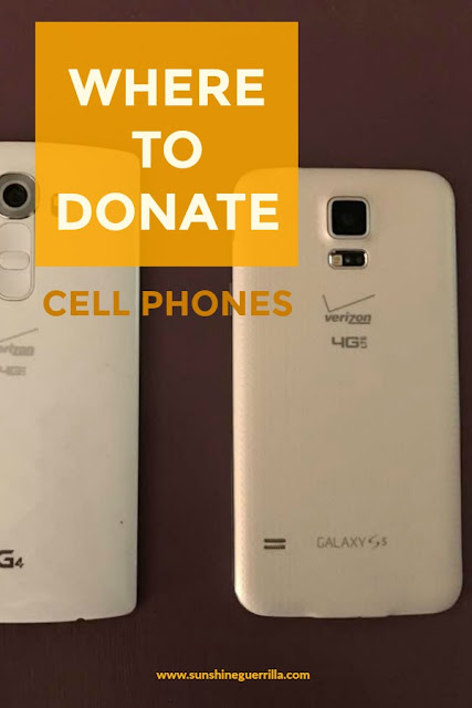 where to donate your cell phone