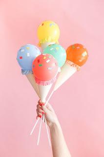 come realizzare palloncini gelato