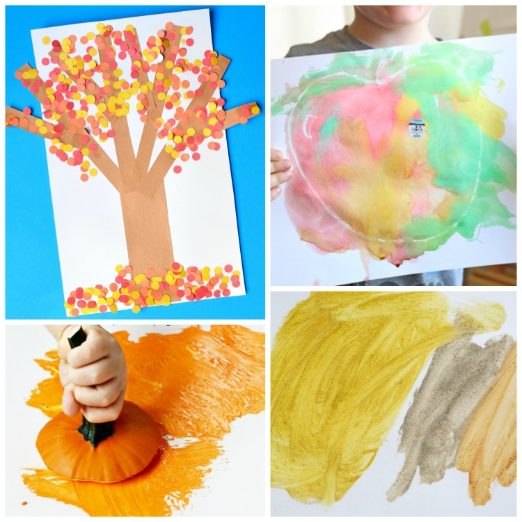 Fall Art And Craft Ideas For Toddlers