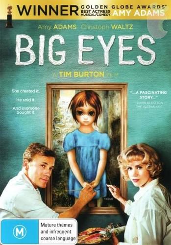 Big Eyes (2014) [BRrip 720p] [Latino] [Drama]