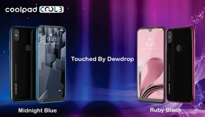 Coolpad Cool 3 with Dewdrop notch display, dual rear cameras, Android Pie released