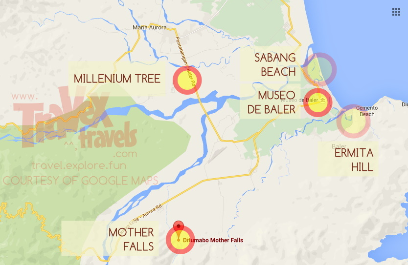 Baler Tourist Spots, Maps and Guide   Travex Travels   Travel