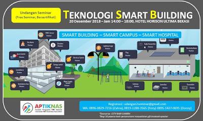 Kami hadir dalam Seminar Smart Building 20 Des 2018 - Horizon Bekasi