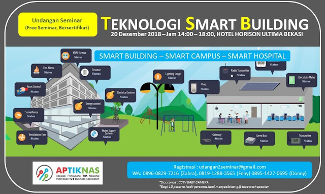 Seminar Teknologi Smart Building - Smart Hospital  Smart Campus