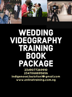 Wedding Videography Training For Nigeria