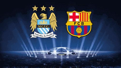 Barcelona Manchester City Live