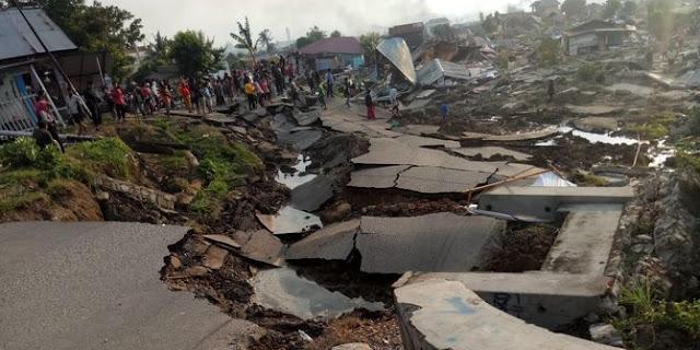 Tsunami di Palu , 28 Sept 2018