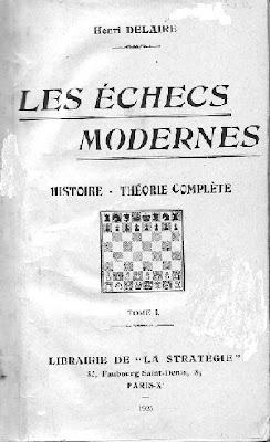 Portada del libro Les Échecs Modernes