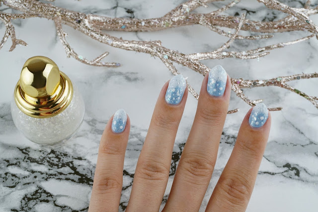 easy winter nail art