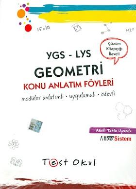 Test Okul AYT Geometri Konu Anlatım Fasikülleri PDF indir
