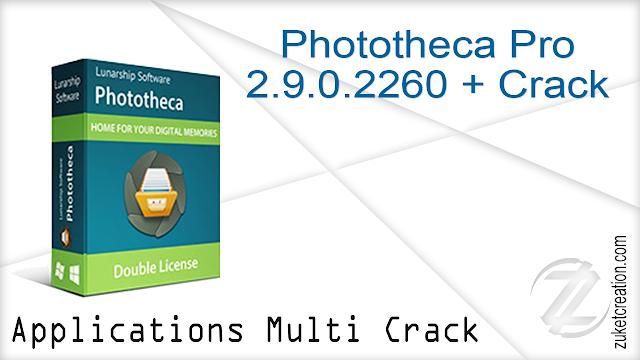 Phototheca Pro 2.9.0.2260 + Crack
