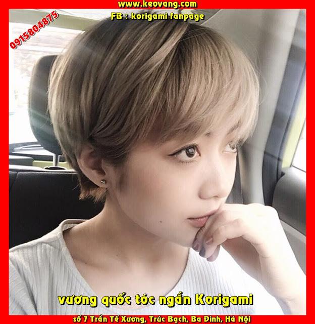 Vương quốc tóc ngắn Korigami, nơi cắt tóc ngắn tomboy được con gái Hà Nội yêu thích nhất