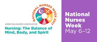 INTERNATIONAL NURSES DAY/WEEK 2017  THEME: Nursing: The Balance Of Mind, Body, Spirit.