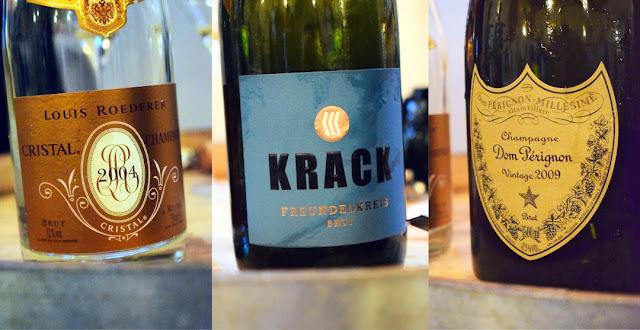 Champagner und Winzersekt