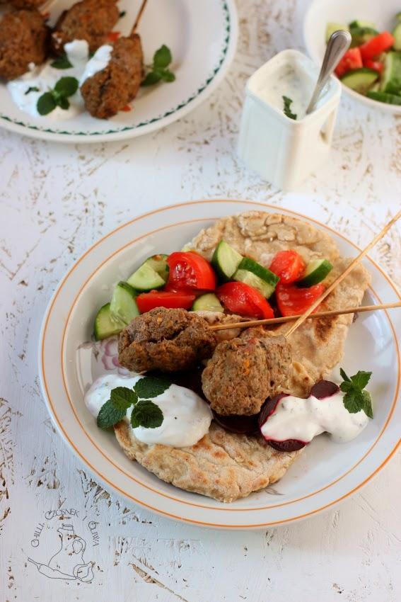 kebaby z miesa mielonego