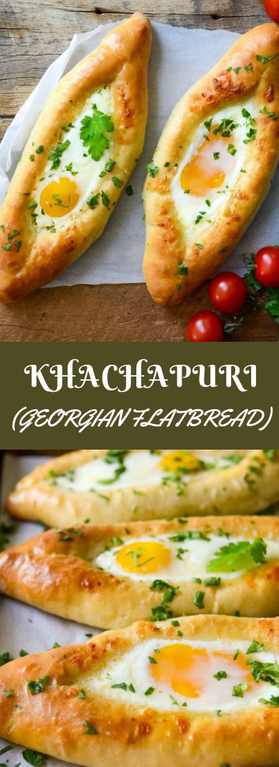 KHACHAPURI (GEORGIAN FLATBREAD) #vegetarian #Egg