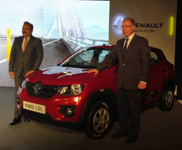 New Renault Kwid launched @ Rs 3.96 lakh