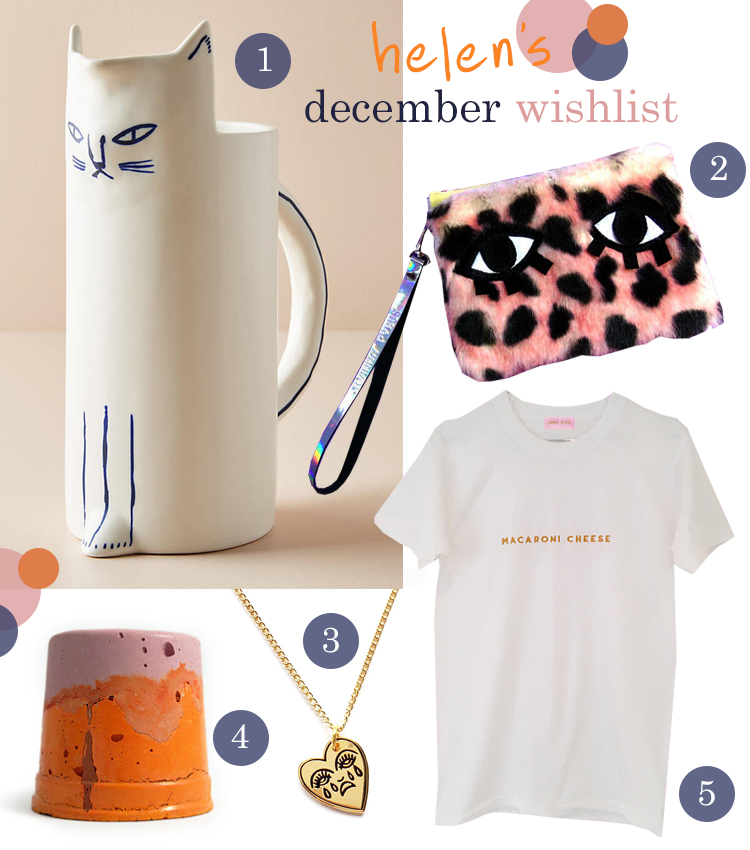 Blogger Christmas Wishlist featuring Kaye Blevgad for Anthropologie, Joanna Pybus, Cousins Collective, Studio Emma and Limpet Store
