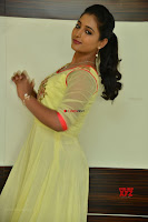 Teja Reddy in Anarkali Dress at Javed Habib Salon launch ~  Exclusive Galleries 006.jpg