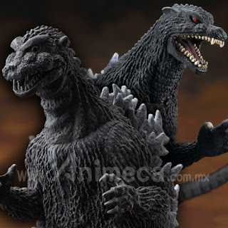 Figura Godzilla 1954 & Godzilla 2004 Toho Tokusatsu Museum Set Edición Limitada
