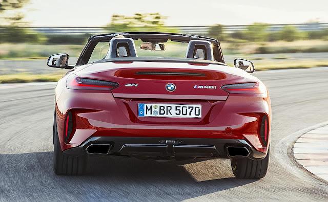 BMW Returns To Roadster Market With  'BMW Z4 M40i' 2019