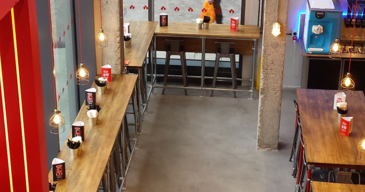 the polished concrete specialists: polished concrete floors at