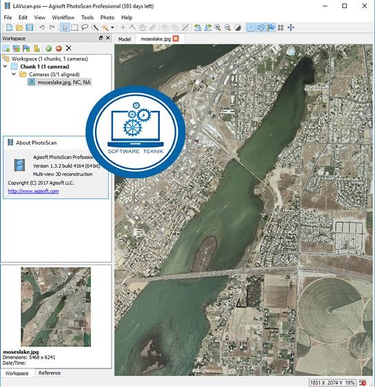 Agisoft PhotoScan Professional v1.4.3