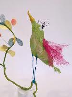 """""""Dans le chèvrefeuille"""", Sophie Touret, Exposition Jardins Parisiens, Galerie de la Marraine"""