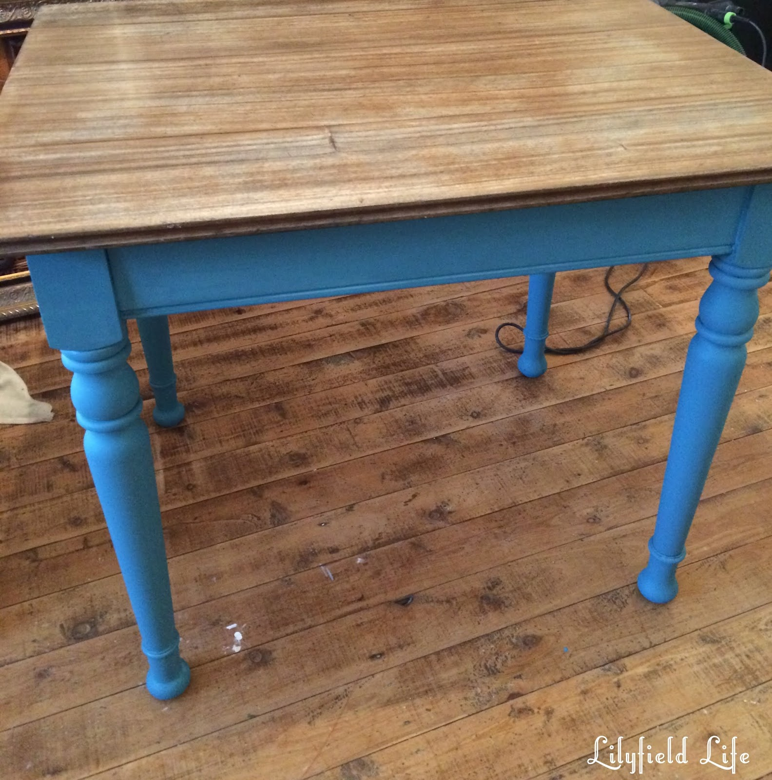 Lilyfield Life Restoring Painting A Vintage Table