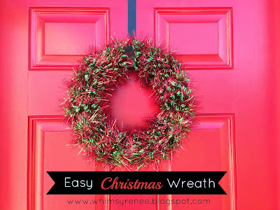 http://whimsyrenee.blogspot.com/2013/12/easy-christmas-wreath.html