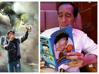 SSsst..! Demo Harkitnas, Aktivis Minta TNI Kudeta Jokowi, Mungkin Saking Gemesnya