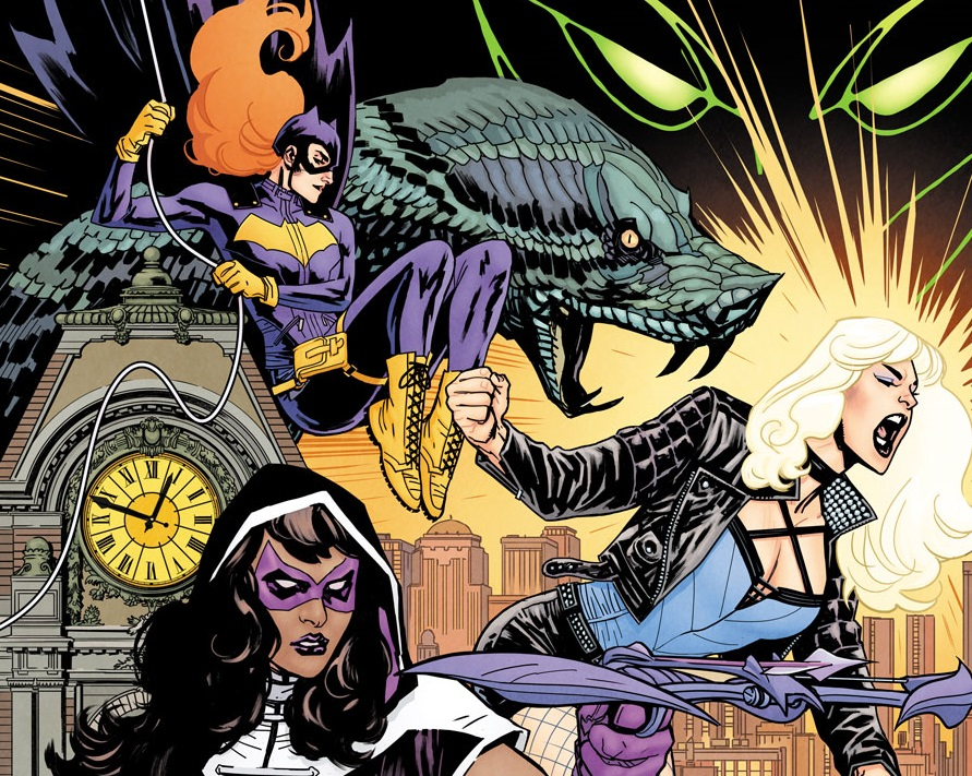 1. Super-héros B013---Batgirl-and-the-Birds-of-Prey-%25231-Cover