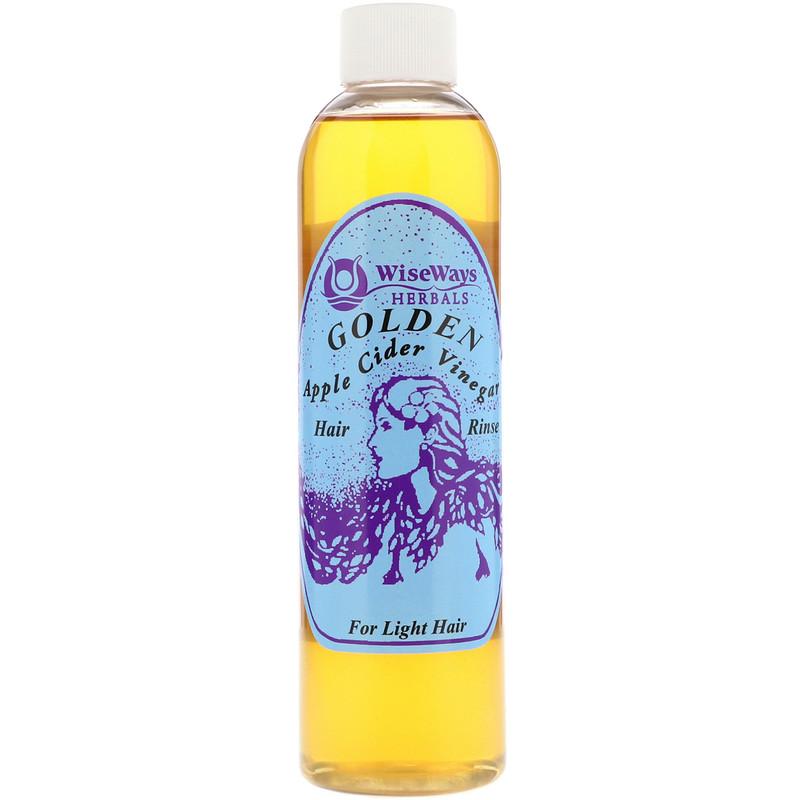 http://www.iherb.com/pr/WiseWays-Herbals-LLC-Golden-Apple-Cider-Vinegar-Hair-Rinse-For-Light-Hair-8-oz-236-ml/27557?rcode=wnt909