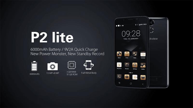 Blackview P2 Lite Boasts 6000 mAh Battery For Less!