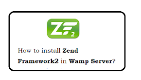 How to install Zend Framework2 in Wamp Server?