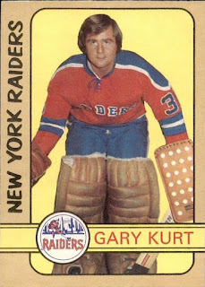 gary kurt new york raiders o-pee-chee hockey card