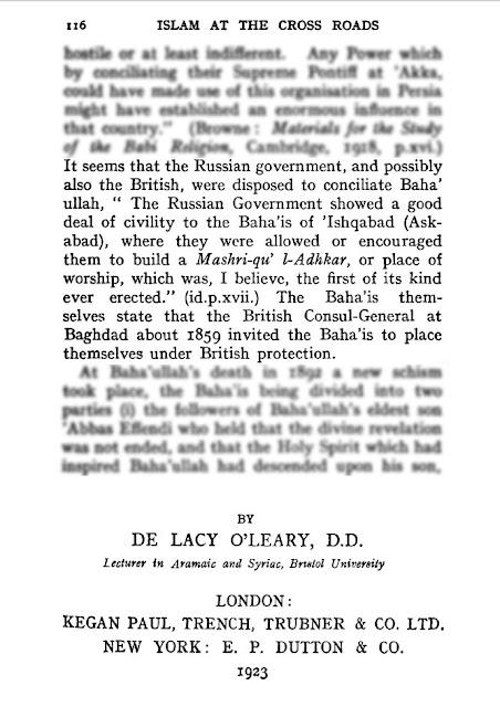 islam at the crossroads de lacy o leary pdf