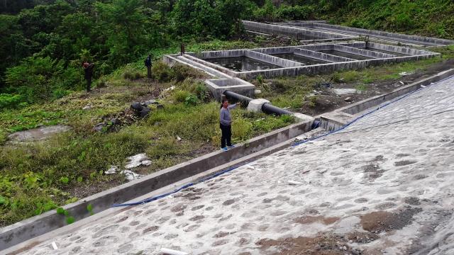 Proyek TPA Di Talaud Amburadul, Diduga Rugikan Uang Negara Miliar Rupiah