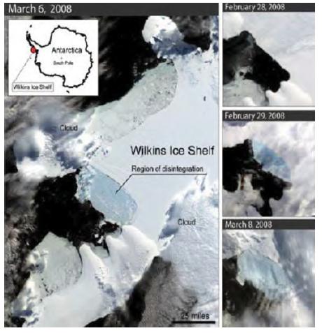 Mencairnya es di kutub