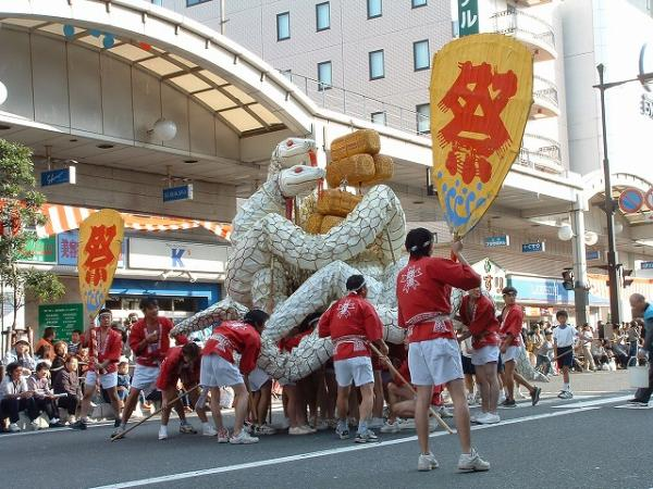 Iwakuni Matsuri, White Snake Parade, Yamaguchi, Pref.