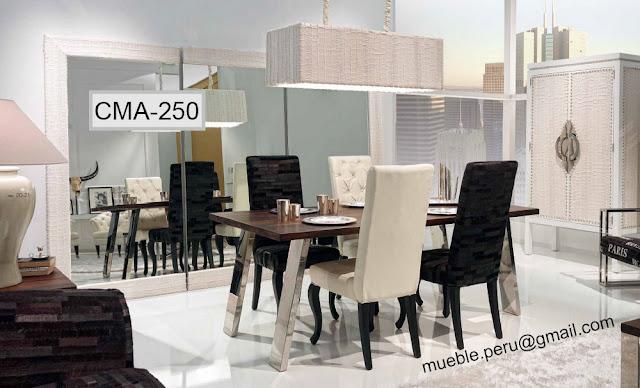 Comedores muebles per for Comedores modernos 2016 precios