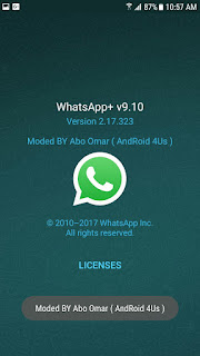 NOWhatsApp v9.11 WhatsAppMods.in