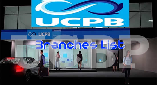 List of UCPB Branches