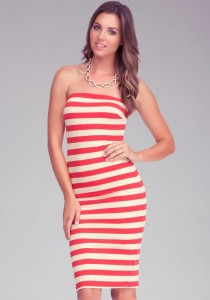 Dliteful Trends: Alexia Echevarria's Red and White striped ...