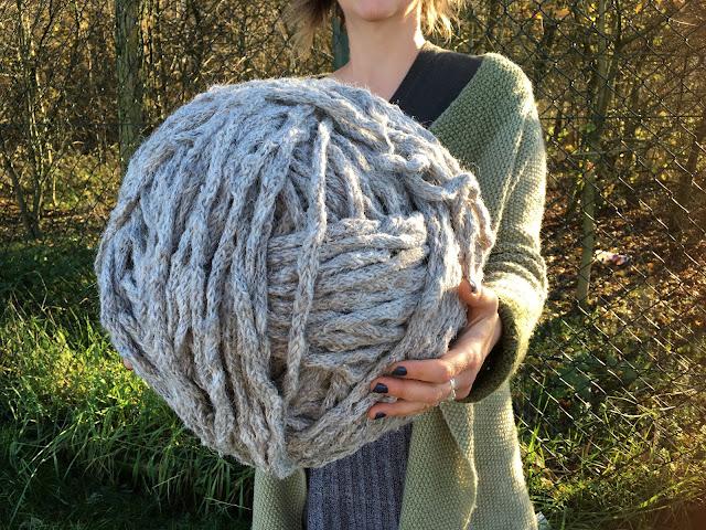 supersize yarn ball