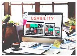 usability image on the desktop