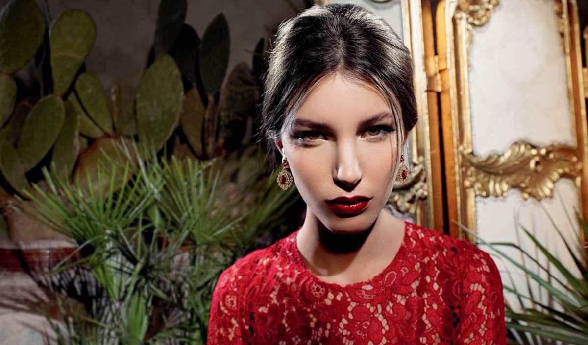 Nome modella Dolce e Gabbana profumo Dolce Rosa Excelsa con Sophia Loren Foto