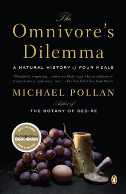 The Omnivore's Dilemma by Michael Pollan - book cover