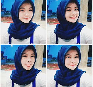 Nabila Bintang Pakai Jilbab