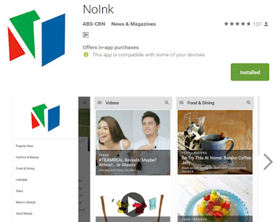 NoInk on Google Play Store